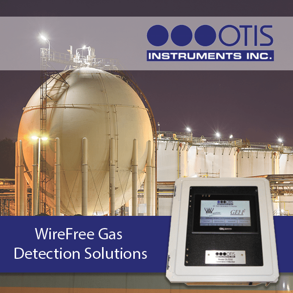 Wireless Gas Detection Solutions - Otis Instruments