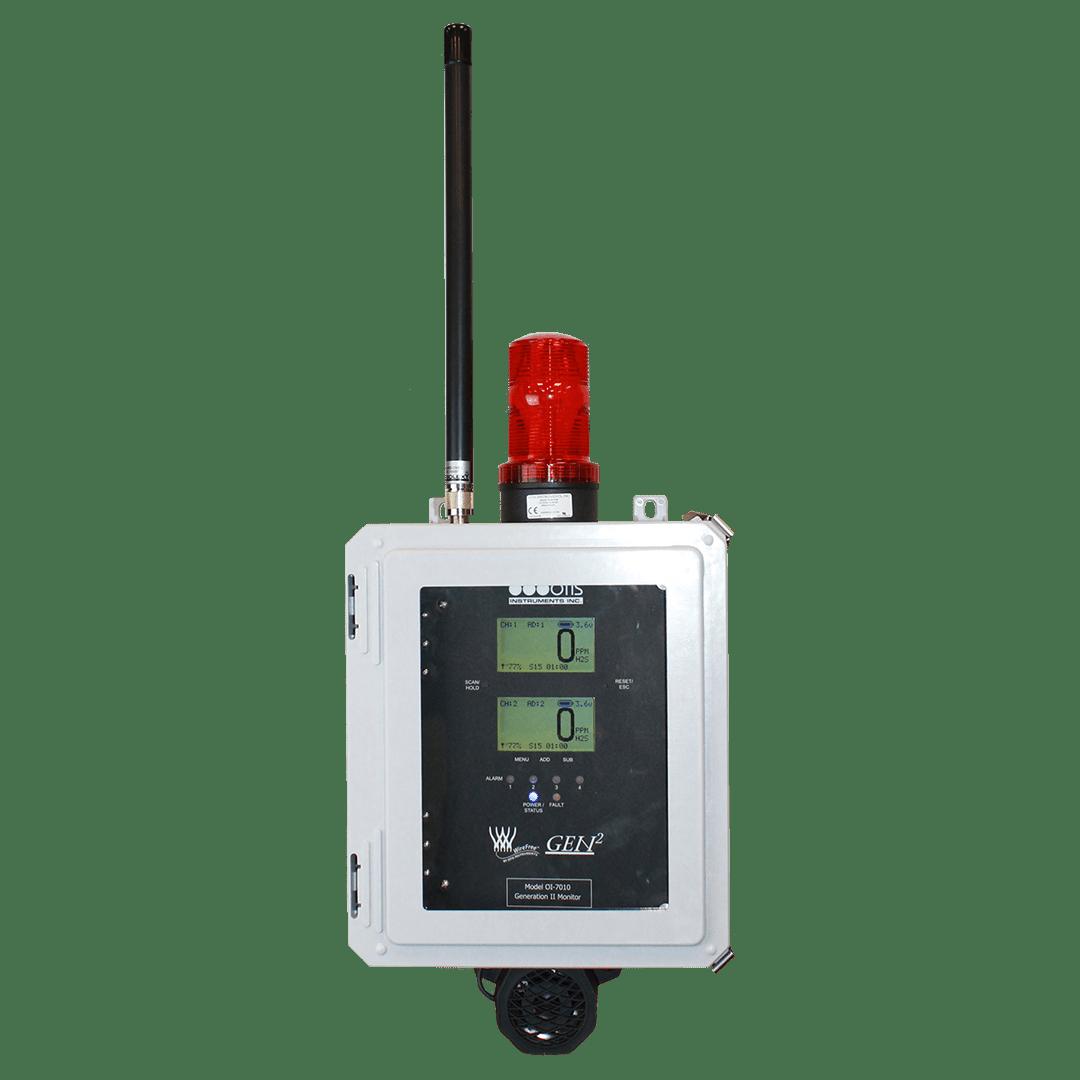 OI-7010 Dual Screen Controller - Otis Instruments