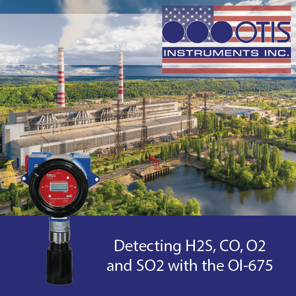 Detecting H2S, CO, O2 and SO2 with the OI-675 - Otis Instruments